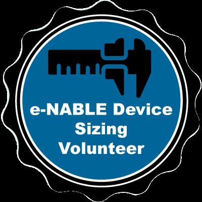 e-NABLE Device Sizing Volunteer