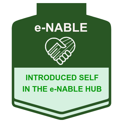 Introduced Self in the e-NABLE Hub
