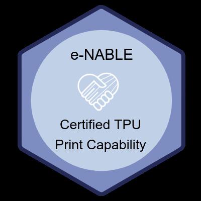 Certified TPU Print Capability