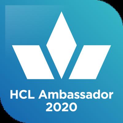 HCL Ambassador 2020