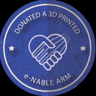 Donated an E-NABLE Arm
