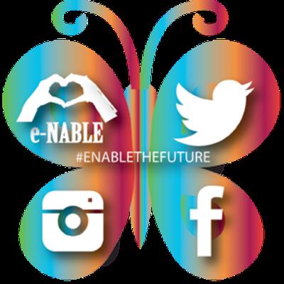 e-NABLE Social Butterfly