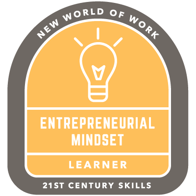 Entrepreneurial Mindset Badge