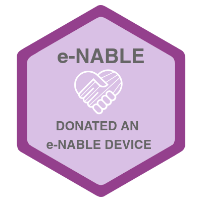 Donated an e-NABLE Hand