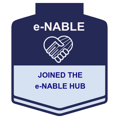 Joined the e-NABLE Hub