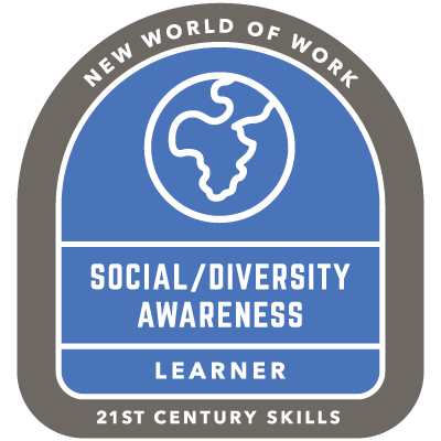 Social Diversity/Awareness Badge